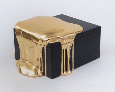 Nancy Lorenz, 'Red Gold Box', 2019