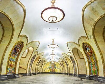 David Burdeny, 'Novoslobodskaya Station, Moscow, Russia', 2015