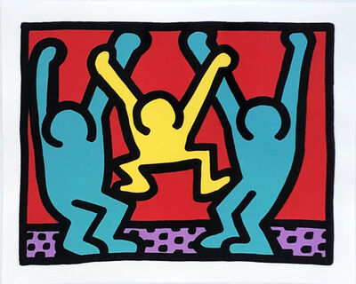 Keith Haring, 'Pop Shop I (B)', 1987
