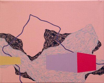 Zsófi Barabás, 'Purple line', 2014