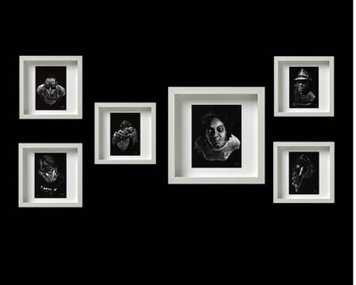 Alejandro Lescay, 'Políptico: La espera / Polyptych: The wait', 2020