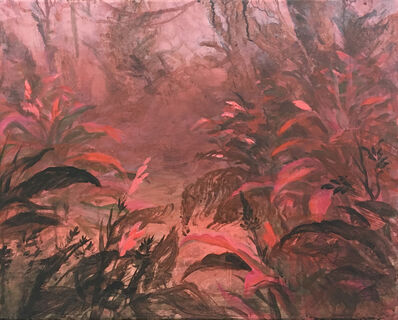 Wim Legrand, 'Forest edge (red)', 2020