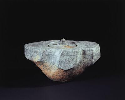 "Ohi Toshio, 'Ōhi White Ceremonial Vessel ""Hakobune 02""', 2007"