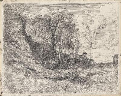 Jean-Baptiste-Camille Corot, 'Souvenir d'Ostie', 1855