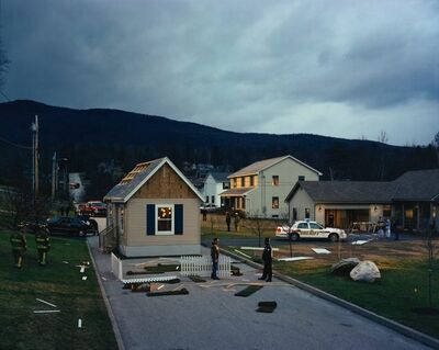 Gregory Crewdson, 'UNTITLED (HOUSE IN THE ROAD)', 2002