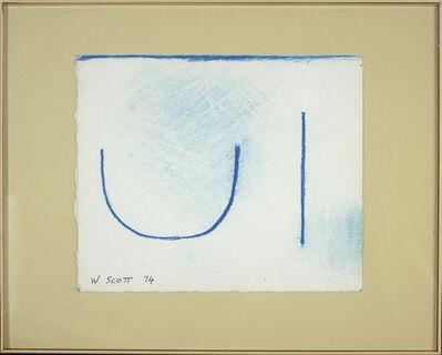 William Scott (1913-1989), 'Untitled', 1974
