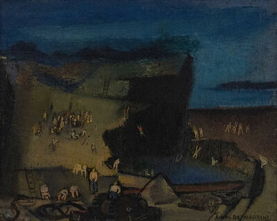 Joseph De Martini, 'Bathers--Abandoned Quarry', 20th Century
