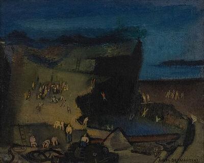Joseph De Martini, 'Bathers--Abandoned Quarry', 20th Century