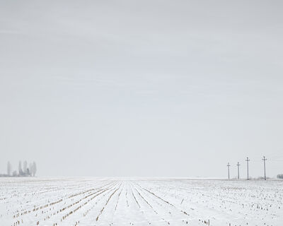 Tamas Dezso, 'Winter Corn Field (near Turda, West Romania), 2012', 2012