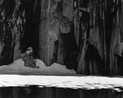 Ansel Adams, 'Frozen Lake & Cliffs, Kaweah Gap, Sierra Nevada, California', 1927-printed c. 1970s
