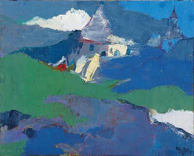 Boris Chetkov, 'Evening Church', 1989