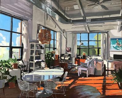 Aaron Hauck, 'Midmorning Living Room', 2018