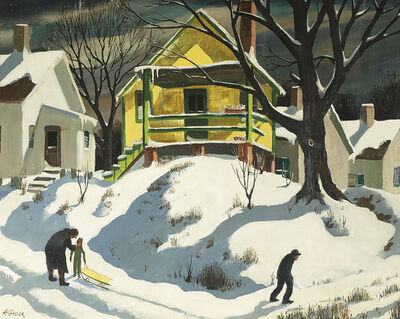Henry Gasser, 'The Yellow House'