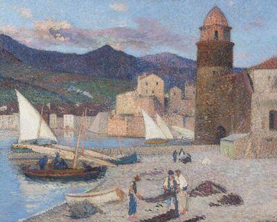Henri Martin, 'Collioure, le port de séchage', ca. 1920