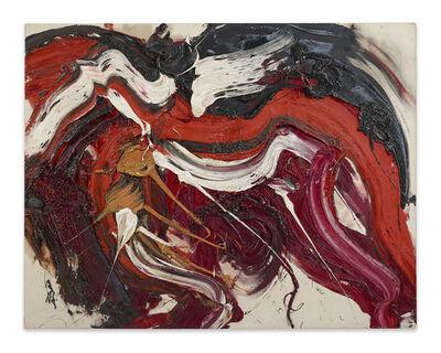 Kazuo Shiraga, 'Kaku Rou (Threatening Wolf)', 1963