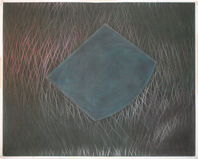 David Tremlett, 'Drawing for pastel and grease #4', 2007