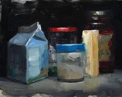 Tom Giesler, 'Study of a crowd #1: top-shelf-fridge', 2019
