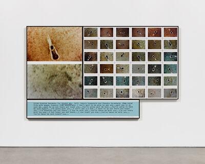 Dennis Oppenheim, 'Slide Dissolve Sequence for Ground Gel', 1972