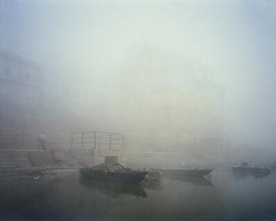 Robert Polidori, 'Darbanga Ghat viewed from the boats leading into the Ganga (Varanasi)', 2003