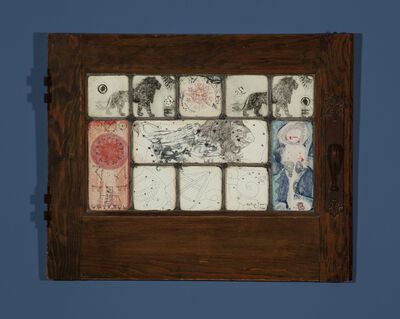 Betye Saar, 'Mystic Window for Leo', 1966