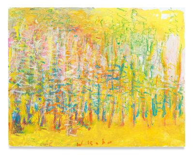 Wolf Kahn, 'Yellow Woods', 2018