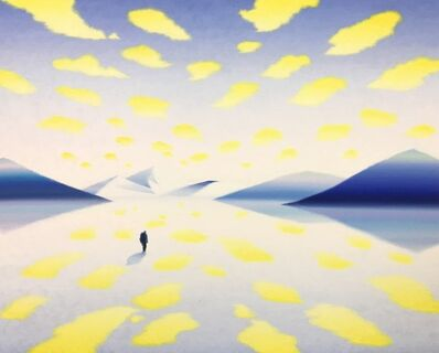 Akira Kamo, 'ZONE (Yellow Light)', 2018