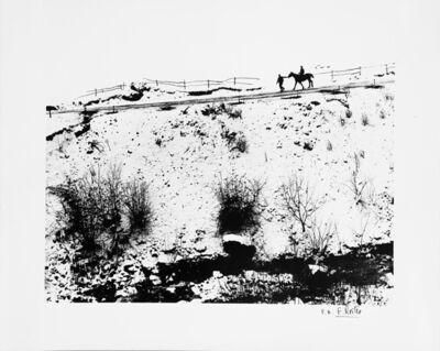 Fulvio Roiter, 'Umbria, Terra di San Francesco', 1954
