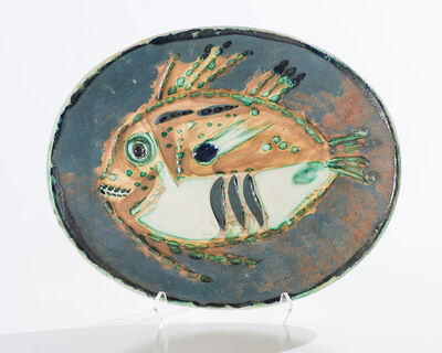Pablo Picasso, 'Mottled Fish (A.R. 170, G.R. 64)', 1952