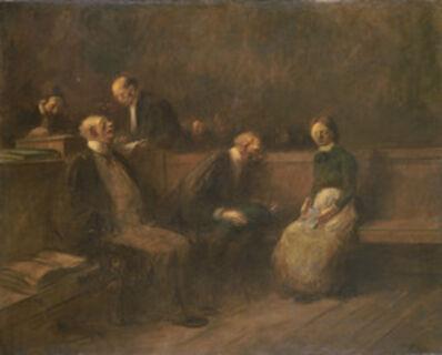 Jean-Louis Forain, 'The Petition', 1906