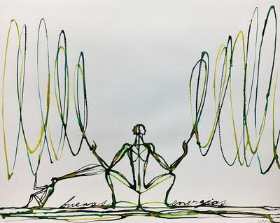 José Bedia, 'Buenas energias', 2020