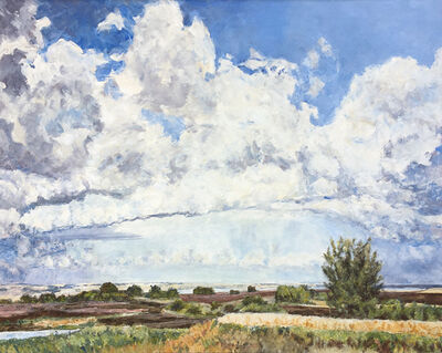 Dorothy Knowles, 'Clouds and Prairie', 2008