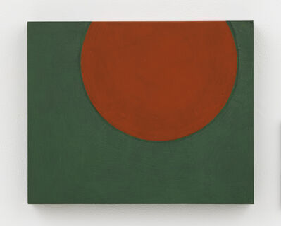 Suzan Frecon, 'rounded area in double vertical', 2018