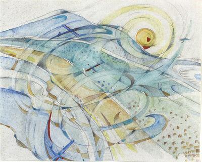 Uberto Bonetti, 'Spiralando sulla Versilia', 1930