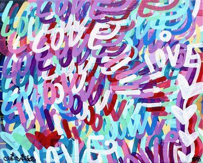 CHRIS RIGGS, 'Love Canvas 6', 2018