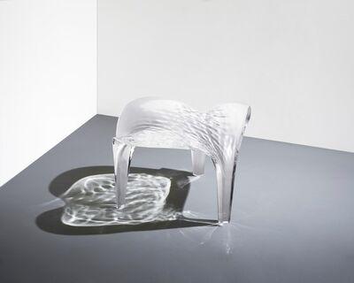 """Zaha Hadid, '""""Liquid Glacial"""" Stool', 2015"""