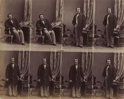 André Adolphe-Eugené Disdéri, 'M Henri Luce de Trémont', ca. 1860