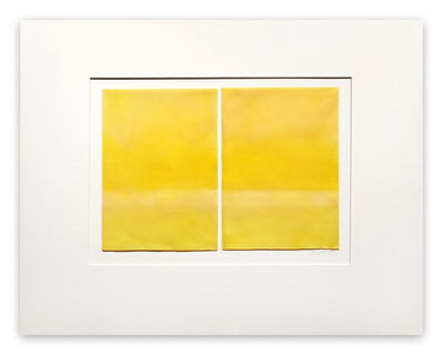 Janise Yntema, 'Lemon Yellow (Abstract painting)', 2015