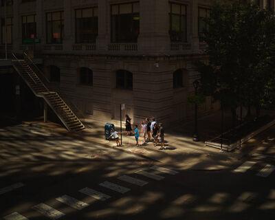 Oli Kellett, 'Cross Road Blues (Hubbard St, Chicago)', 2017