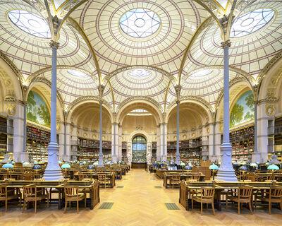 Reinhard Gorner, 'Salle Labrouste Library, Paris', 2018