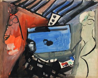 Bruno Cassinari, 'Eludio', 1954