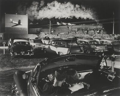 O. Winston Link, 'Hotshot Eastbound, Iaeger, West Virginia', 1956