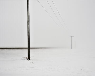 David Burdeny, 'Prairie Road, Saskatchewan, CA', 2020