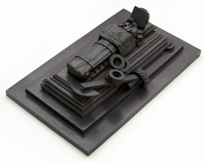 Michael Sandle, 'Memorial with Tyres', 1983
