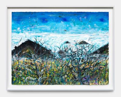 Thomas Houseago, 'Backbone Trail - Early Morning Mist', 2020