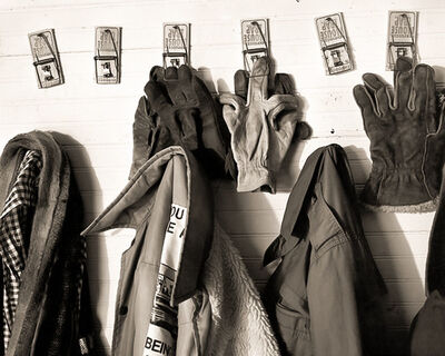Frank Hunter, 'Gloves and Coats, Lady Borton's Farm (#229)', 1997