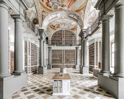 Massimo Listri, 'St. Emmeram Library III, Regensburg, Germania| World Libraries', 2016