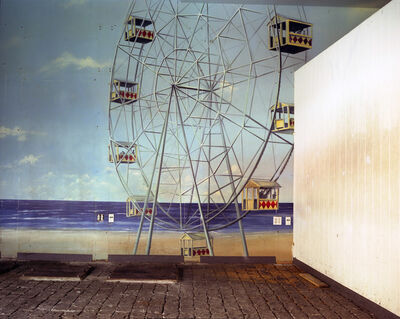 Lisa Kereszi, 'Ferris Wheel Mural, Broadway Arcade, Times Square, NYC', 2004