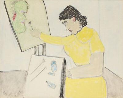 Milton Avery, 'Artist Paints Artist', 1962