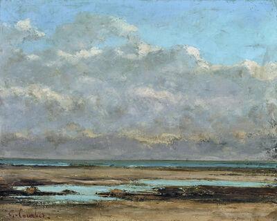 Gustave Courbet, 'Marée basse en Normandie', 1865-1869