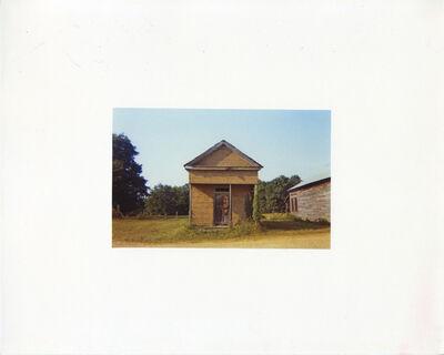 William Christenberry, 'Building with False Brick Siding, 1974', 1981